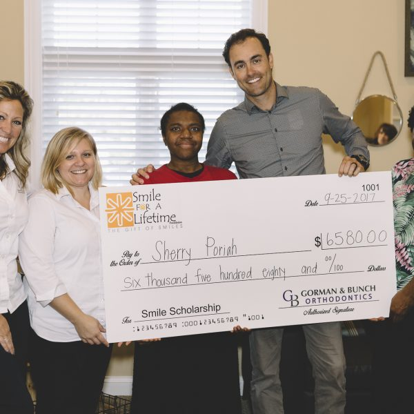 Our Newest Smile for a Lifetime Recipient Gets a Straighter Smile